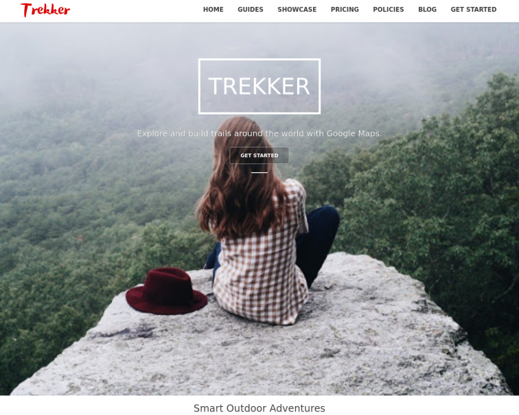 Screenshot of www.trekker.online
