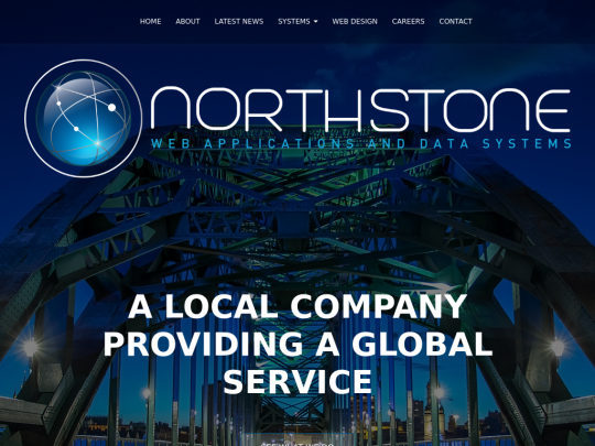 Tablet screenshot of northstonesystems.co.uk