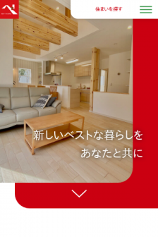 Mobile screenshot of www.besthousing.co.jp