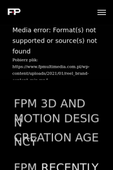Mobile screenshot of www.fpmultimedia.com.pl