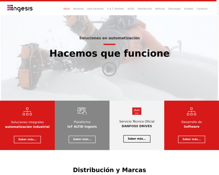 Screenshot of ingesis.es
