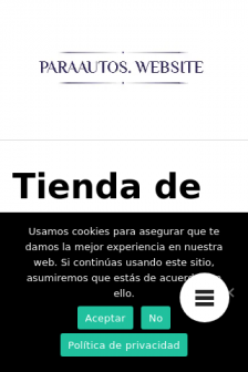 Mobile screenshot of www.paraautos.website