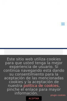 Mobile screenshot of www.fundacionezra.org