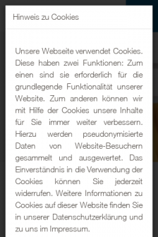Mobile screenshot of www.hnr.de