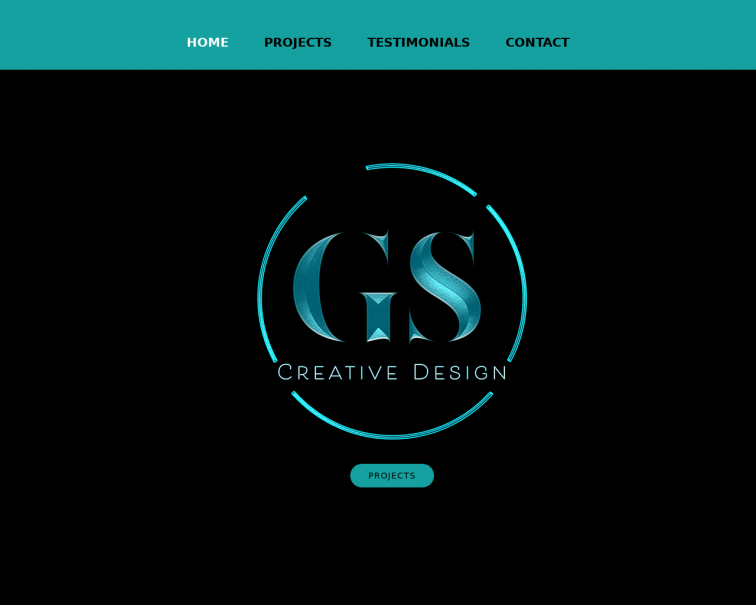 Screenshot of www.gscreativedesign.co.uk
