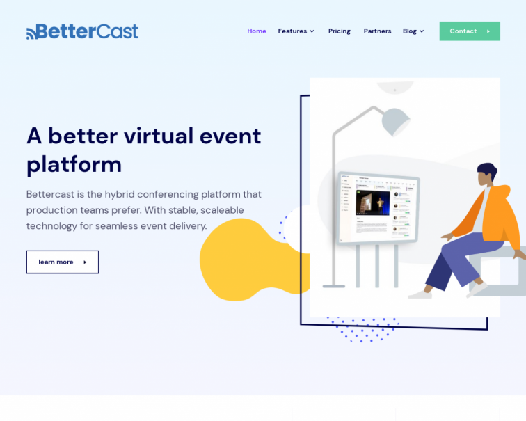 Screenshot of bettercast.io