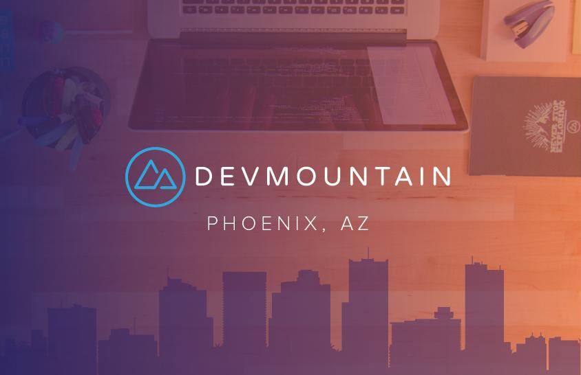 DevMountain coding bootcamp launches new Phoenix, AZ location.