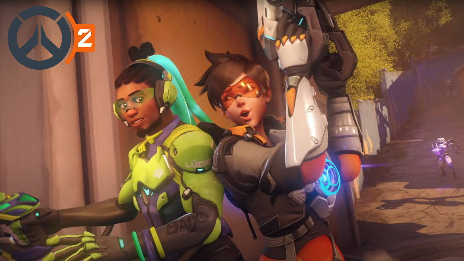 Overwatch 2 characters with their weapons
