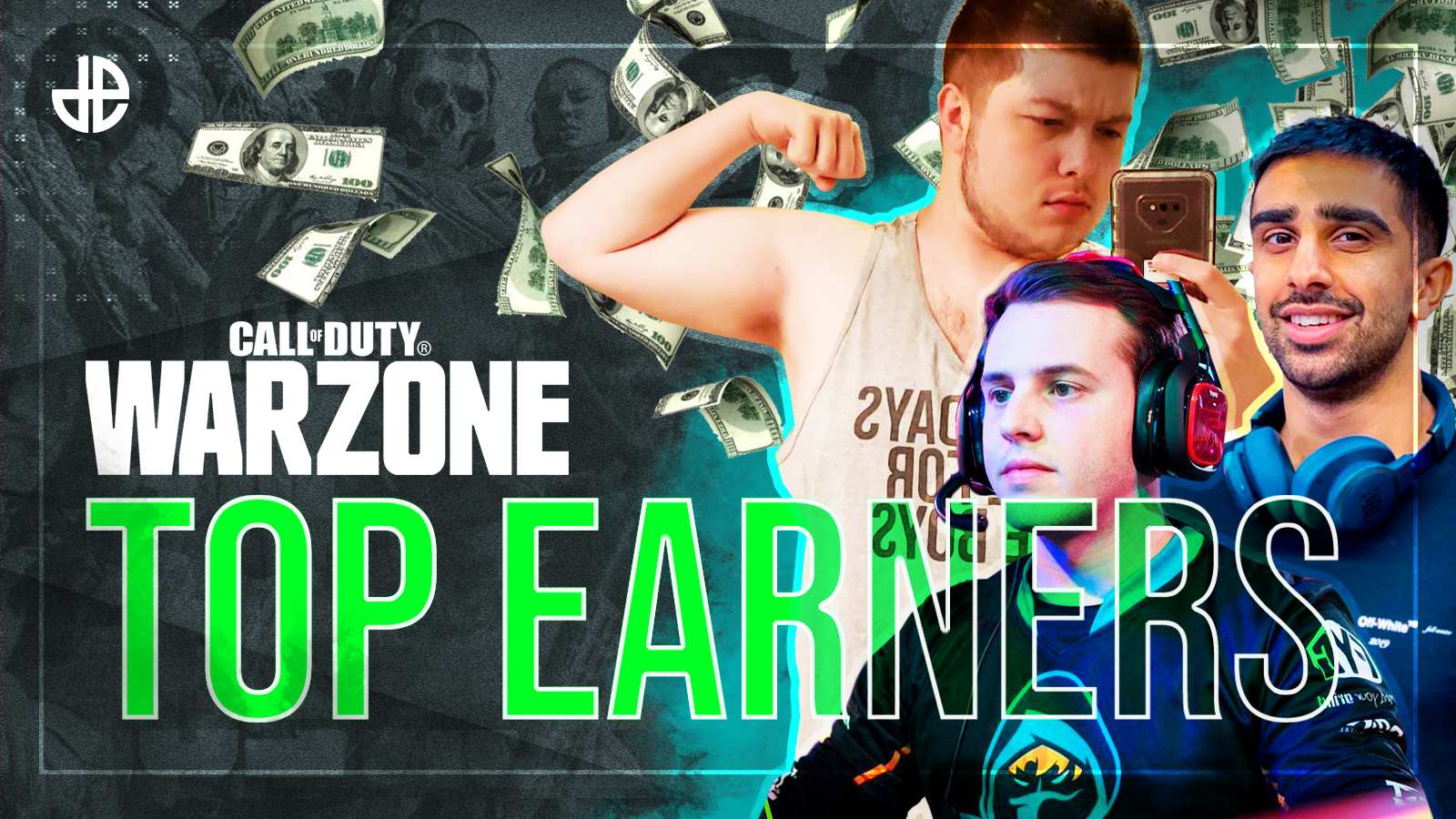 top 20 warzone earners