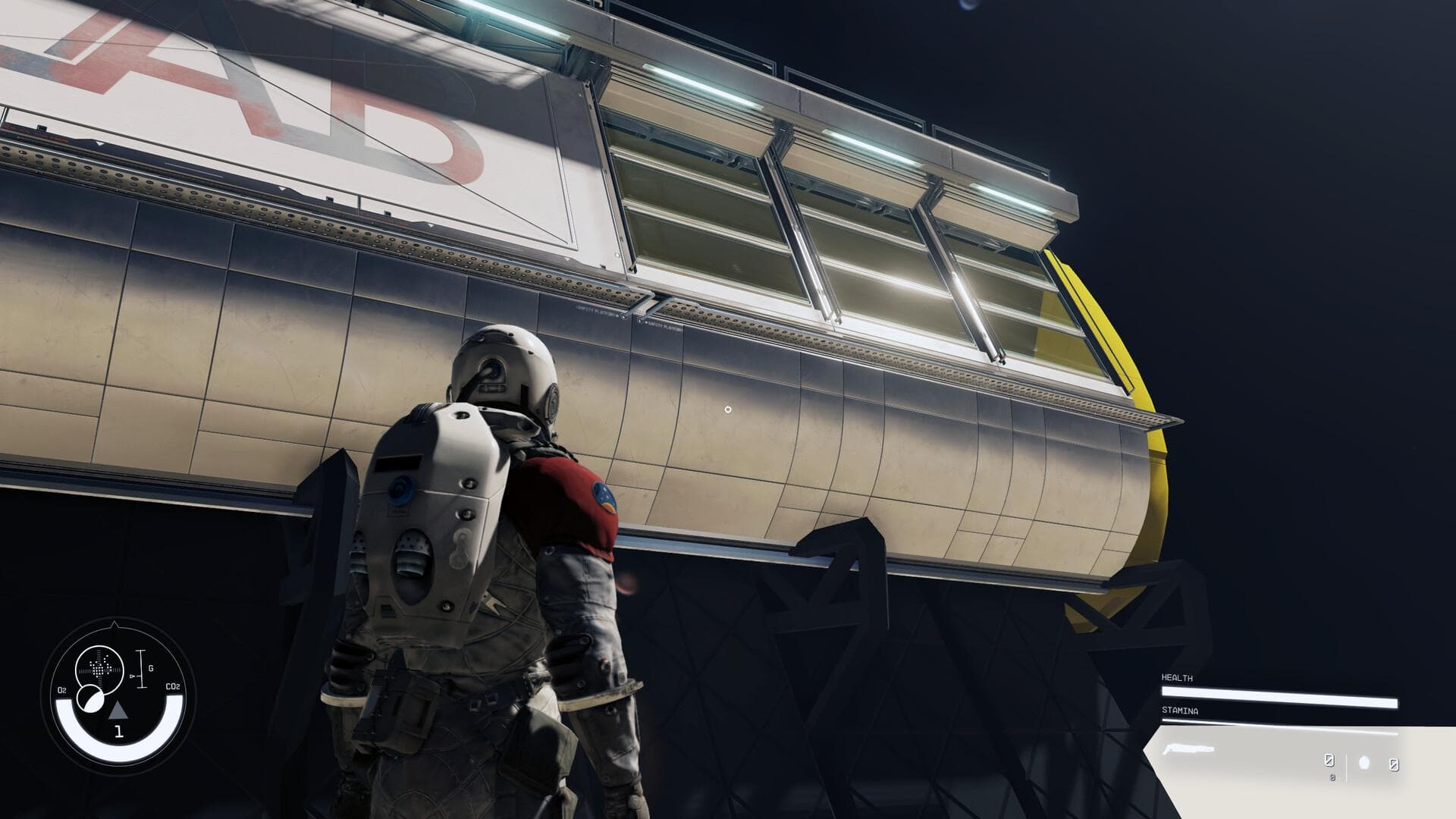 Supposed Starfield leaked image shows an astronaunt looking at space ship