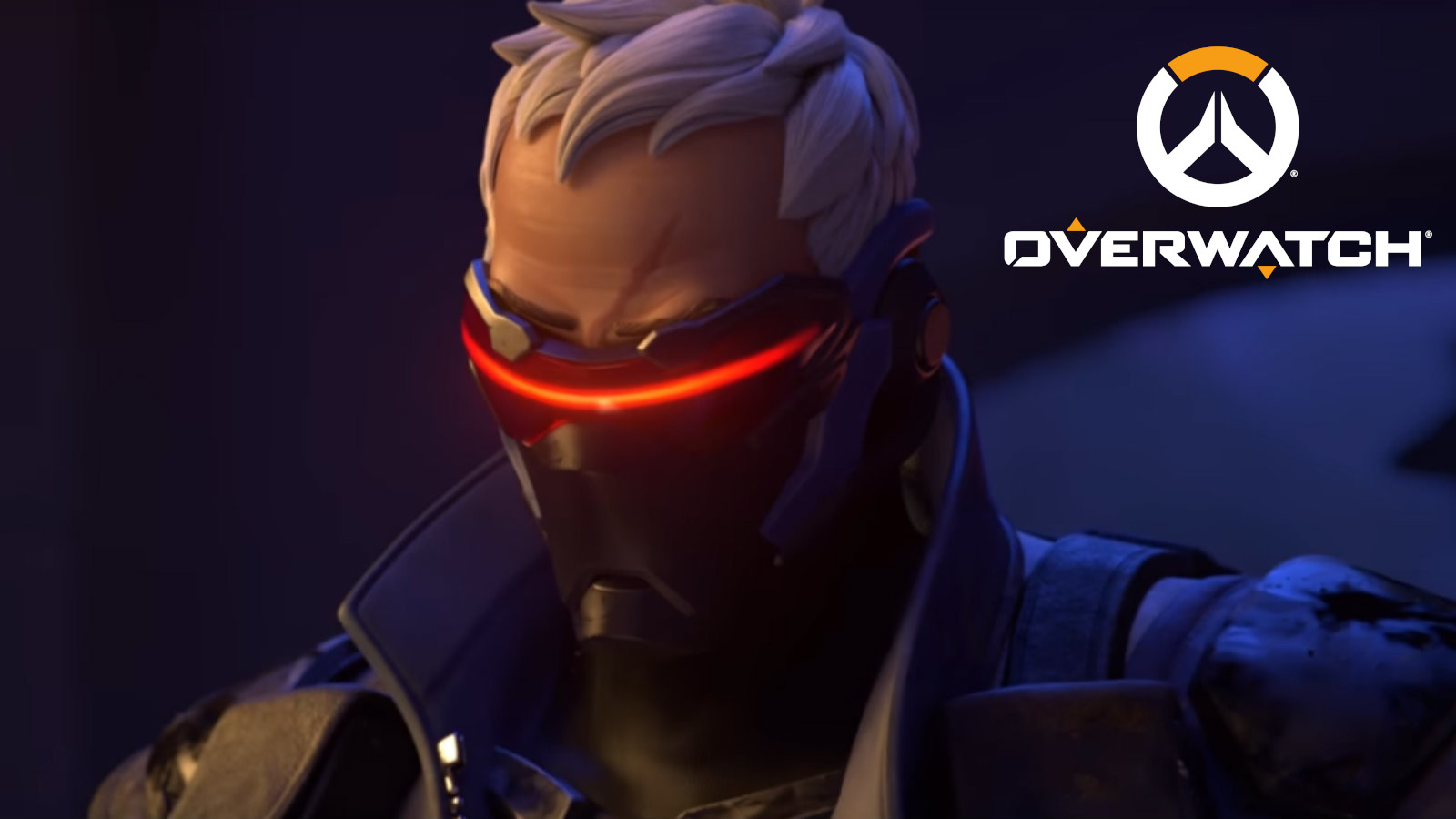 Soldier 76 stares at camera