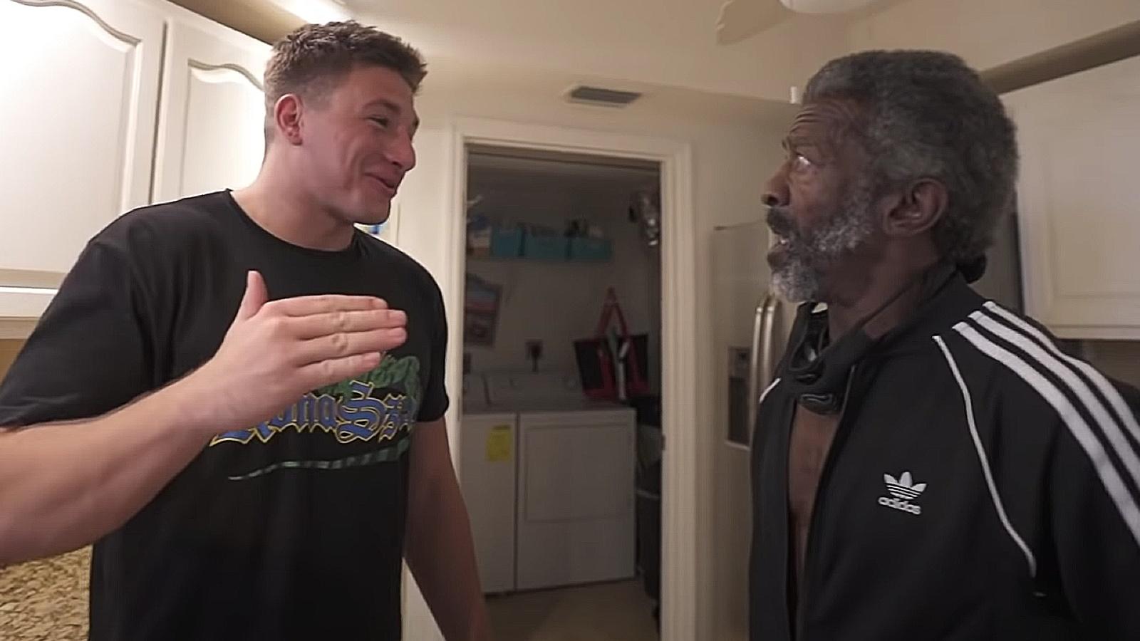 SteveWillDoIt changes homeless man's life Gerald
