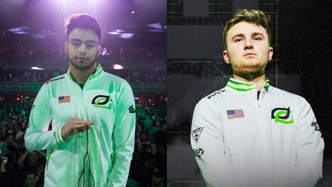 Dashy next to TJHaLy while on OpTic Gaming