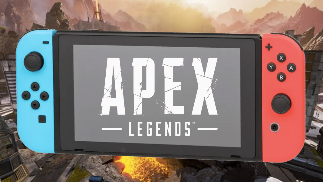 Apex Legends logo and Nintendo Switch