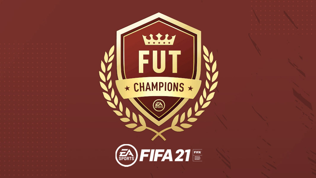 FUT Champs logo with FIFA 21 logo