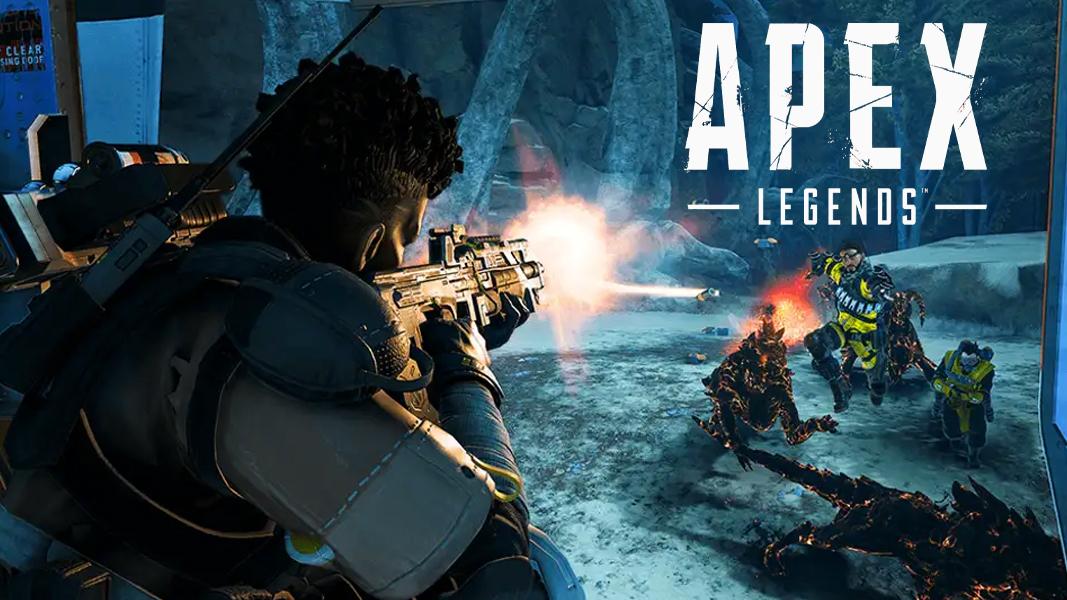 Bangalore firing gun in Apex Legends