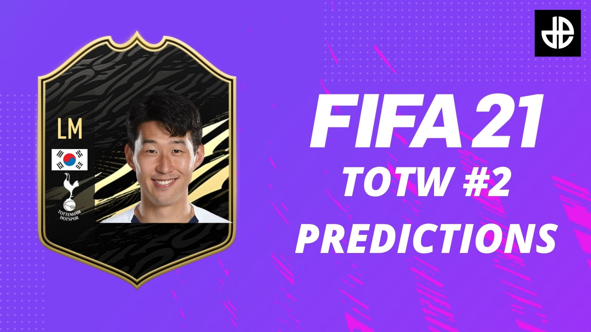 FIFA 21 TOTW 2 predictions with Heung Min Son card