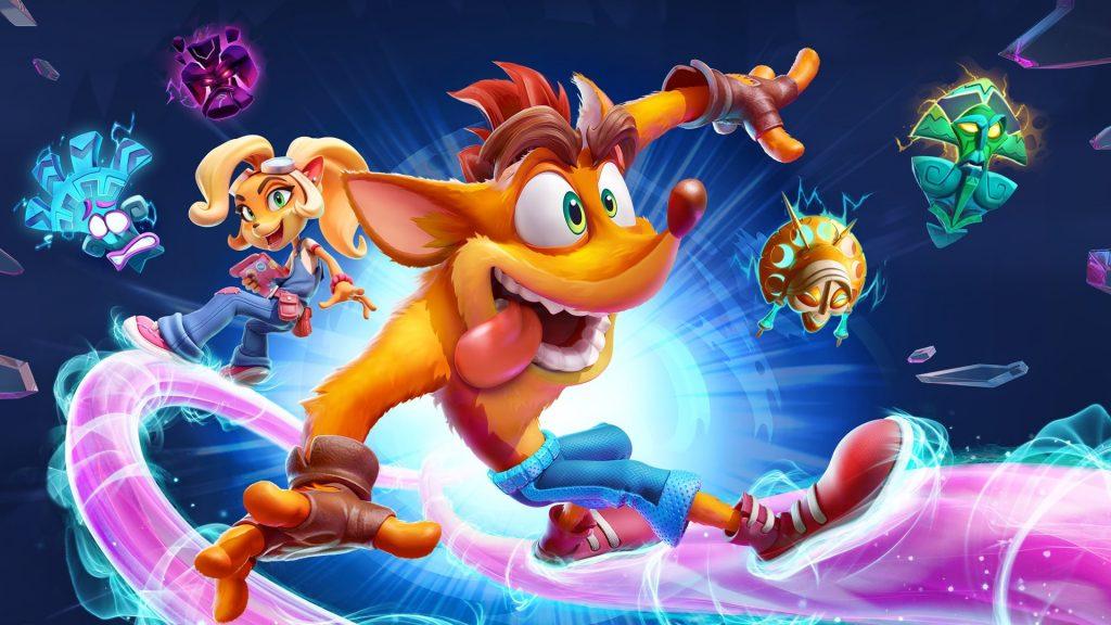 Crash Bandicoot in his 4th game