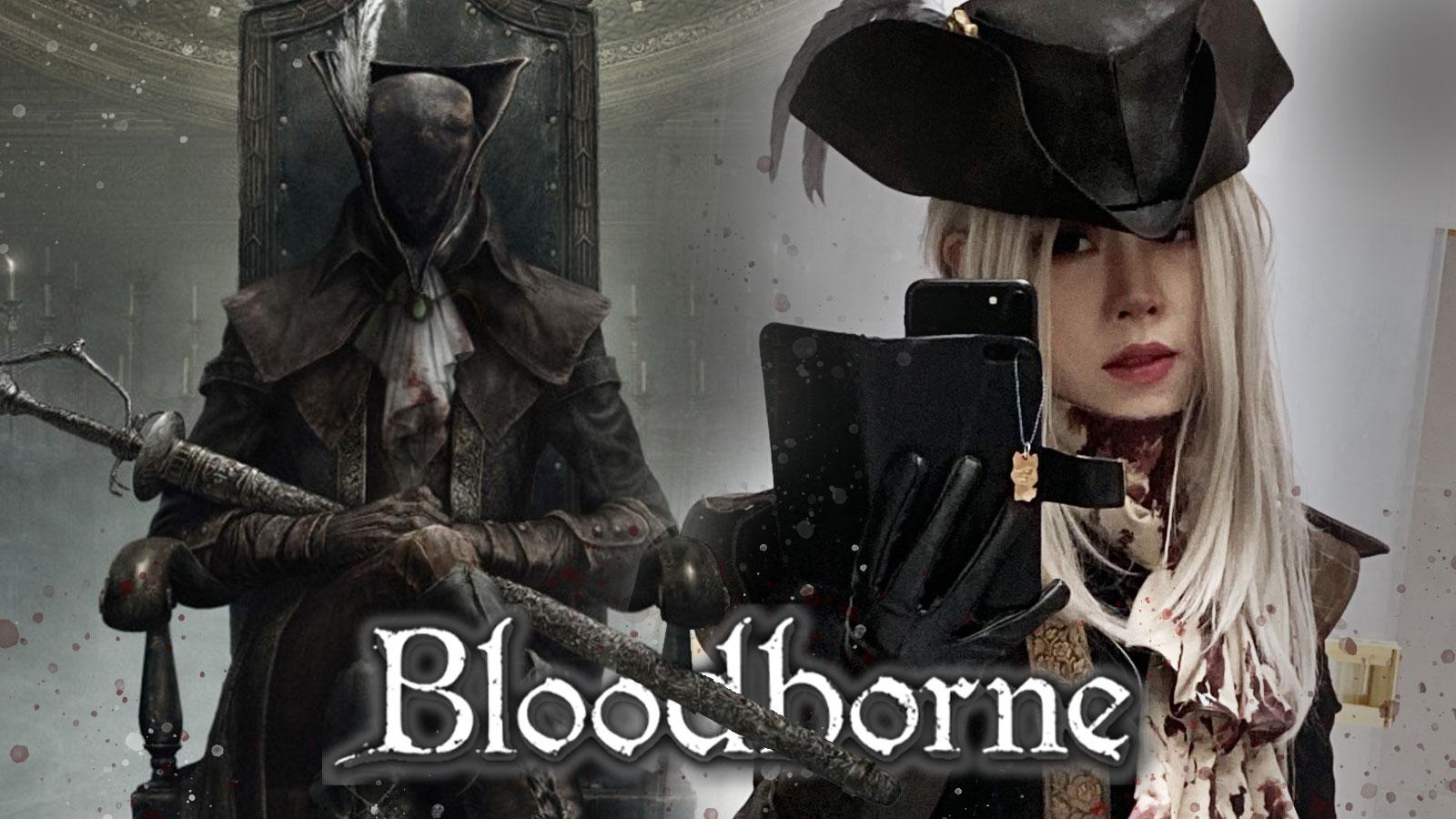 lady maria bloodborne cosplay