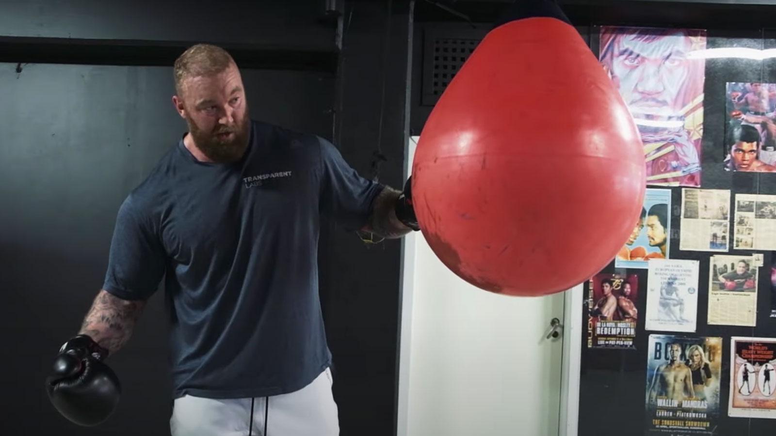 hafthor bjornsson boxing