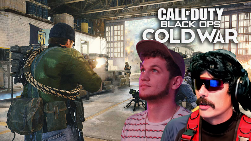 Black Ops Cold War gameplay with Hitch and Dr Disrespect