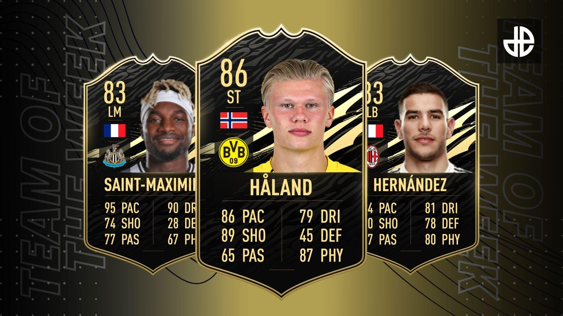 Team of the Week 2 FIFA 21