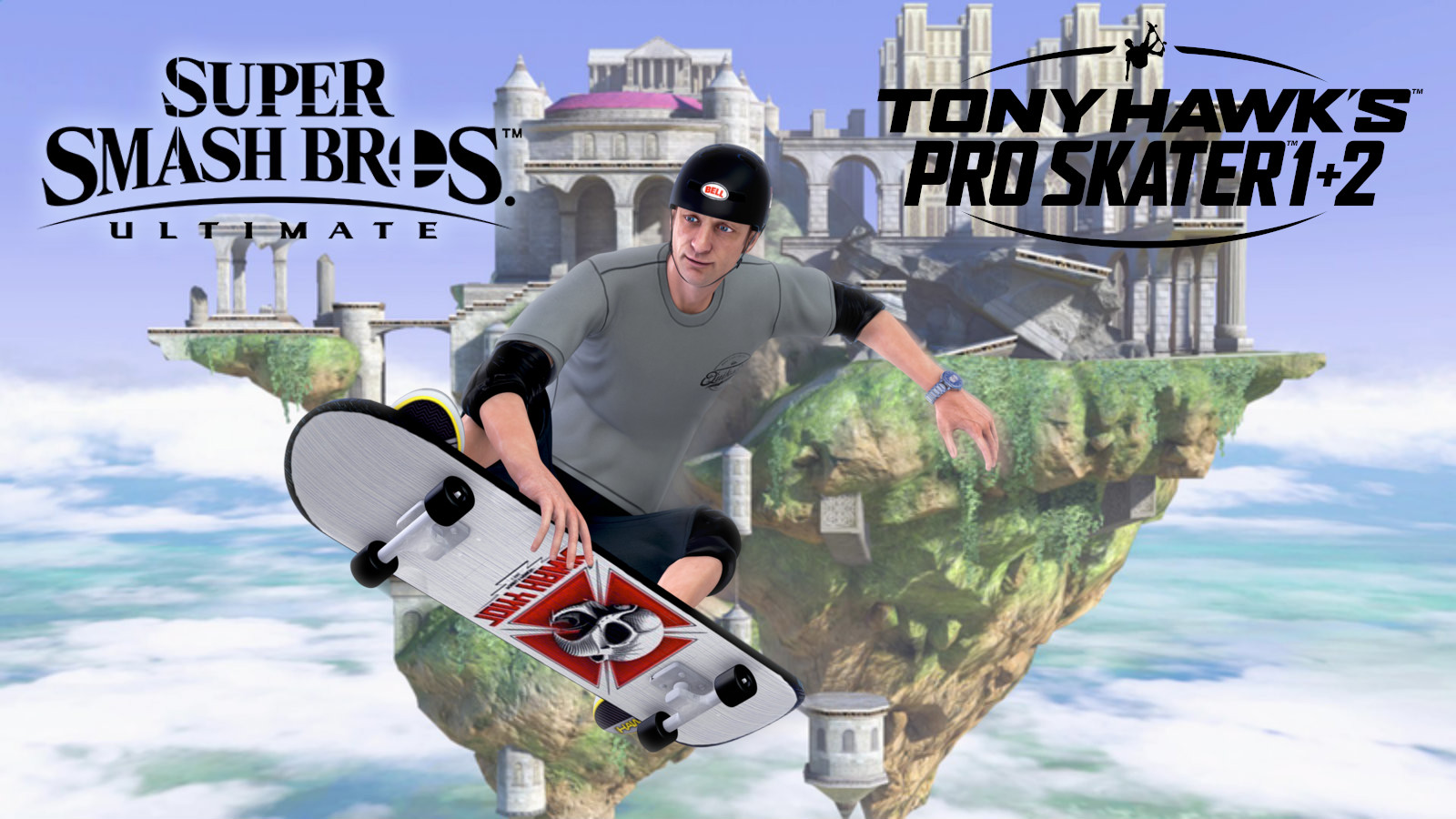 Tony Hawk in Smash Ultimate