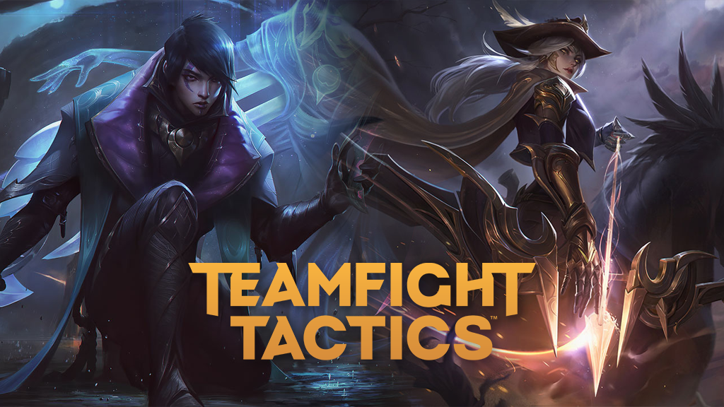 Aphelios and Ashe in TFT Fates