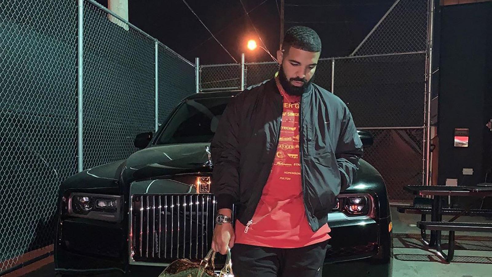 Drakes car collection