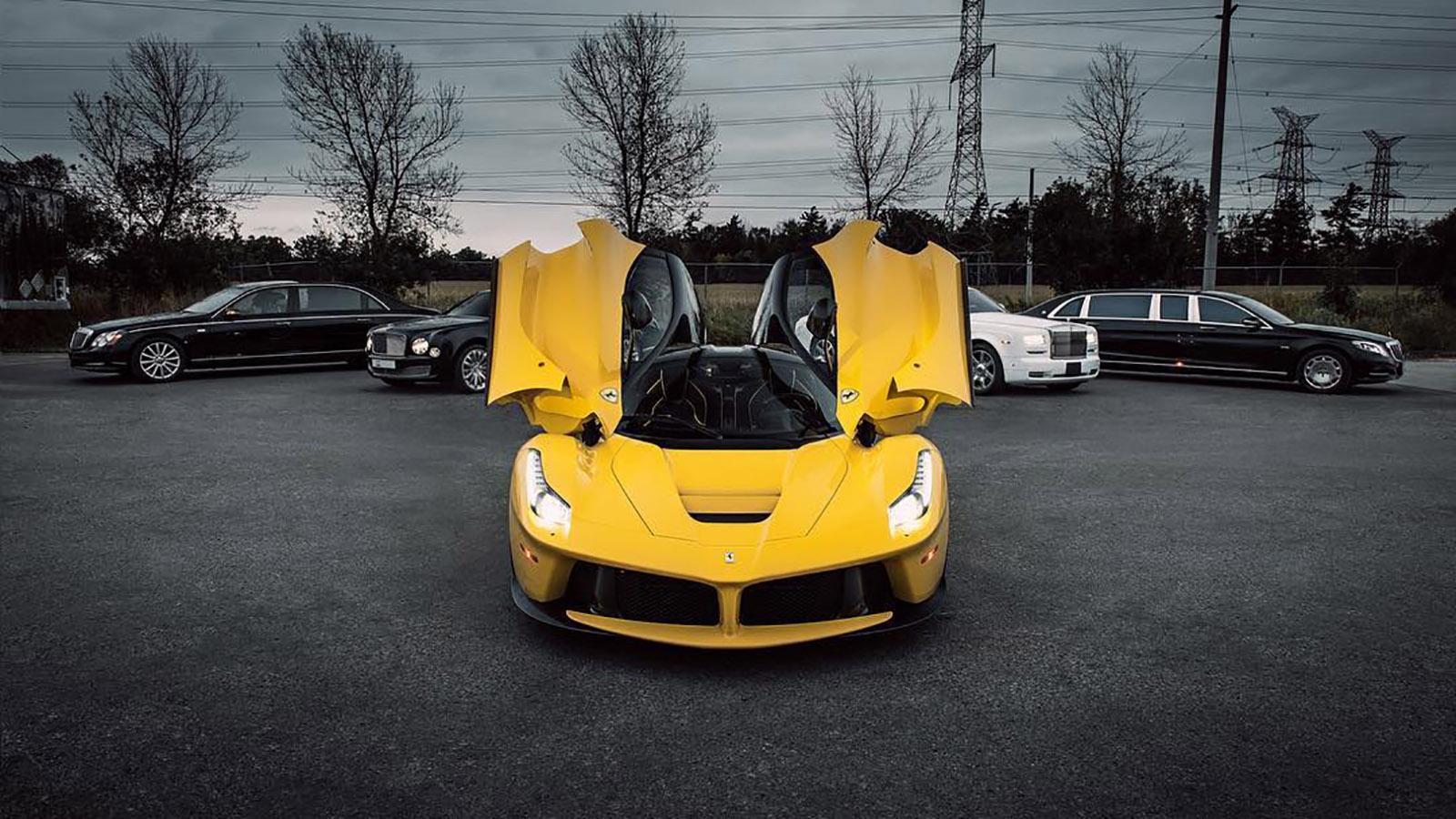 Drake LaFerrari Car Collection