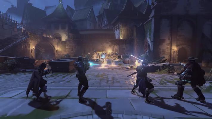 Overwatch Junkenstein's Revenge gameplay