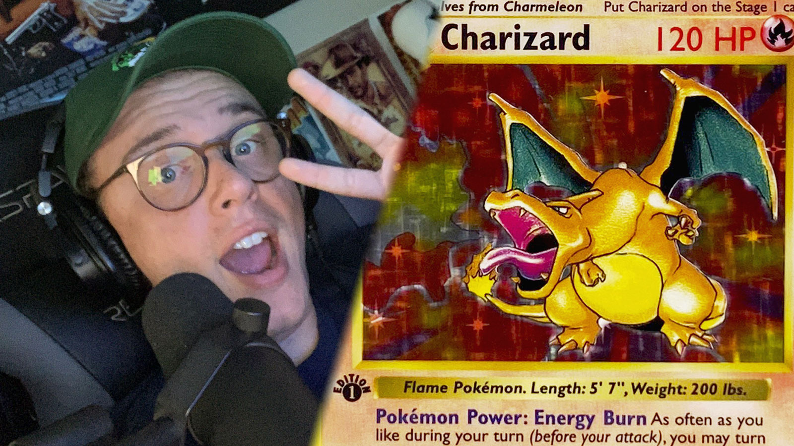 logic pokemon charizard card