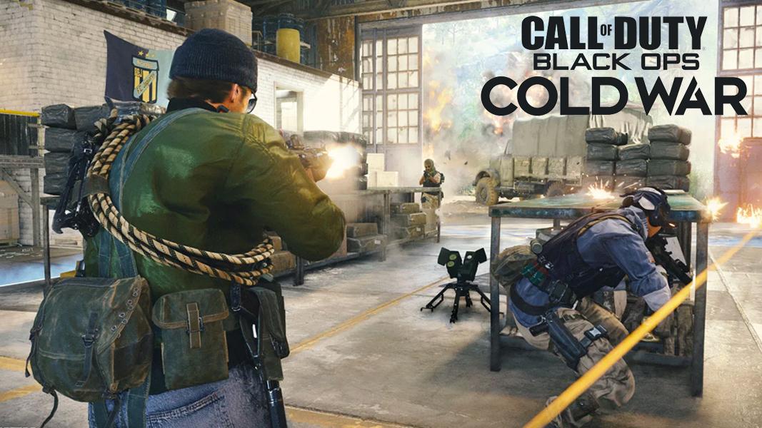 Black Ops Cold War gunfight