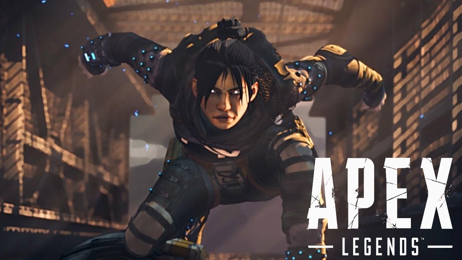 Wraith Naruto run in Apex Legends
