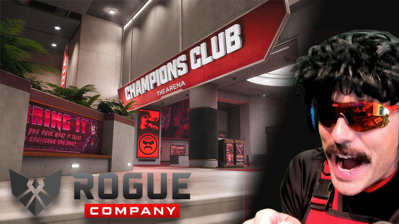Dr Disrespect Rogue Company map