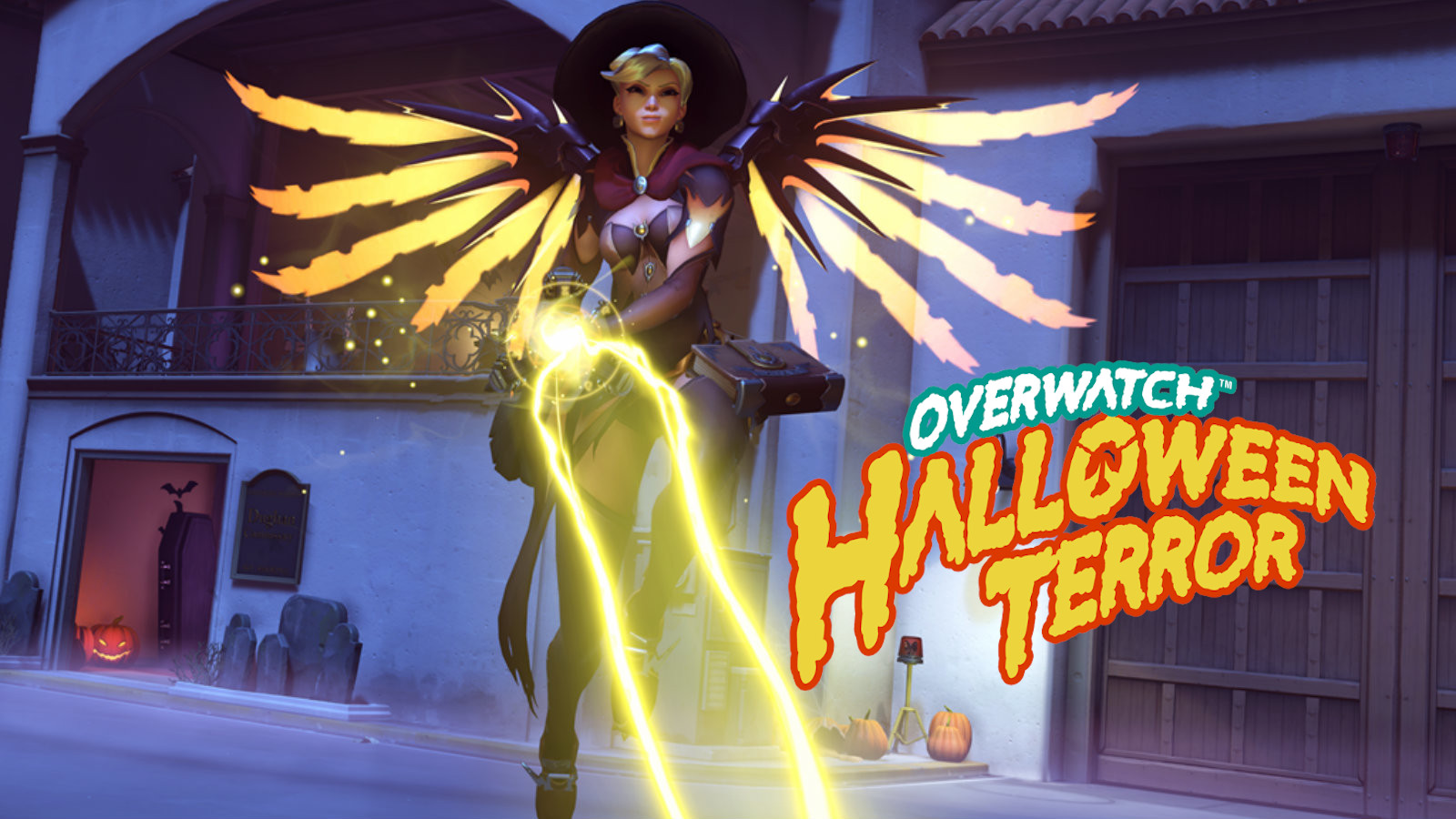 Witch Mercy for Halloween Terror