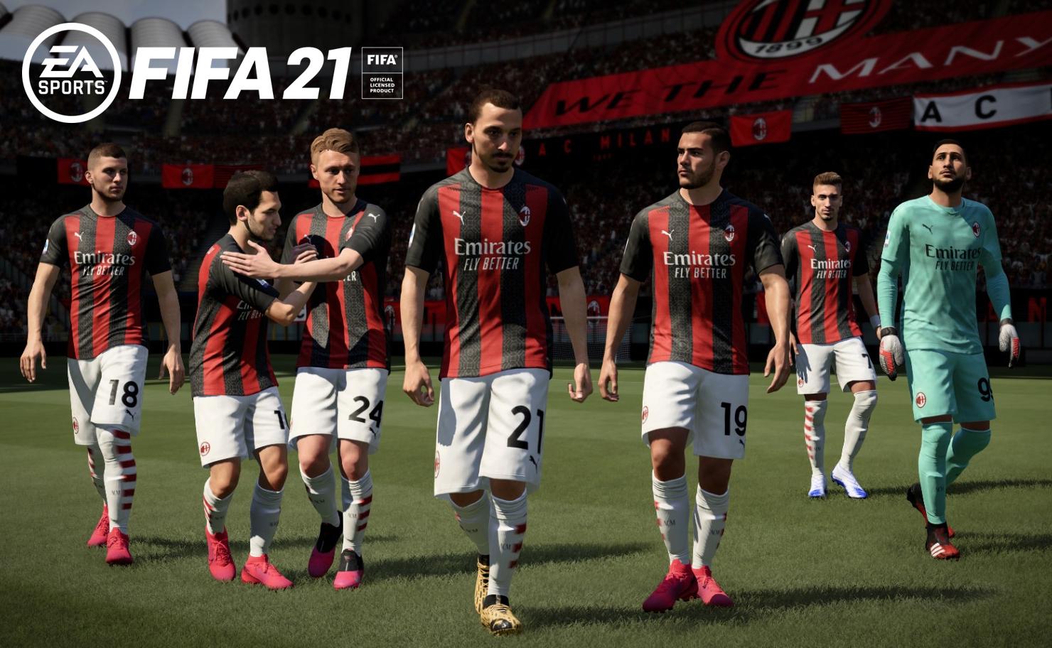 FIFA 21 ac milan