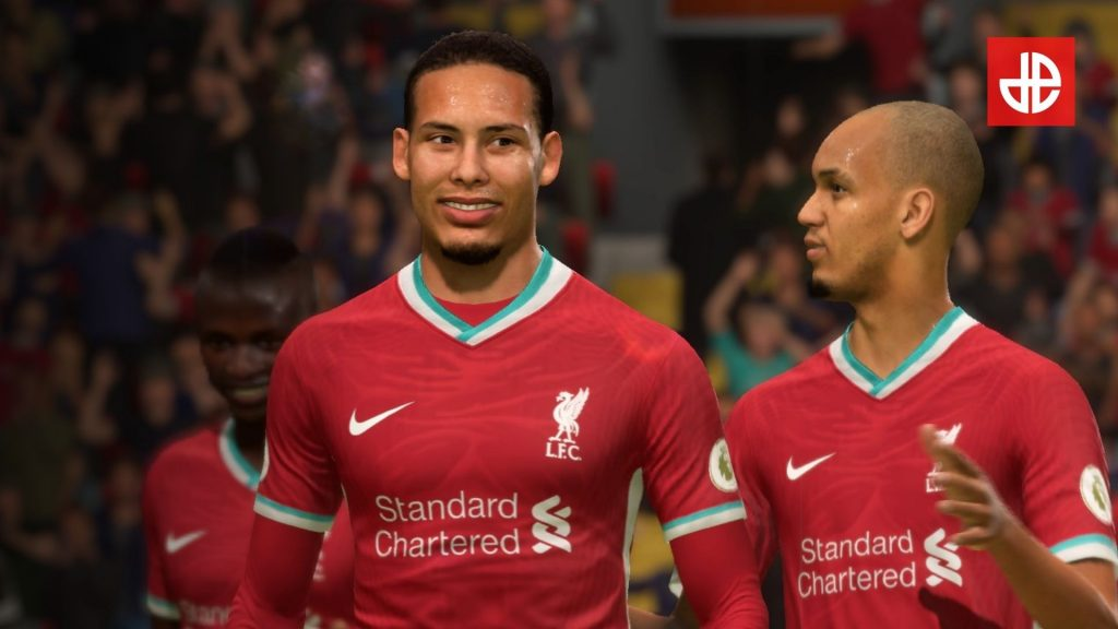 FIFA 21 van dijk and fabinho