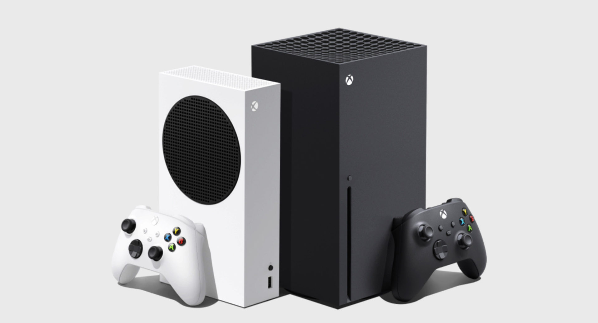 microsoft xbox series x and series s consoles