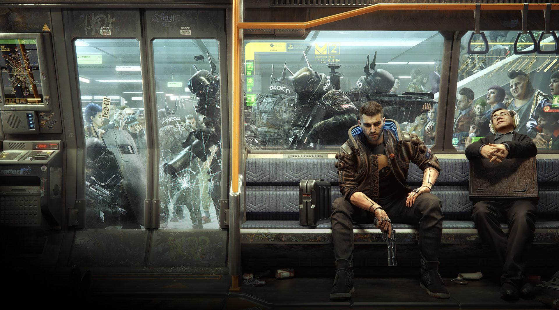 Screenshot of the game Cyberpunk 2077