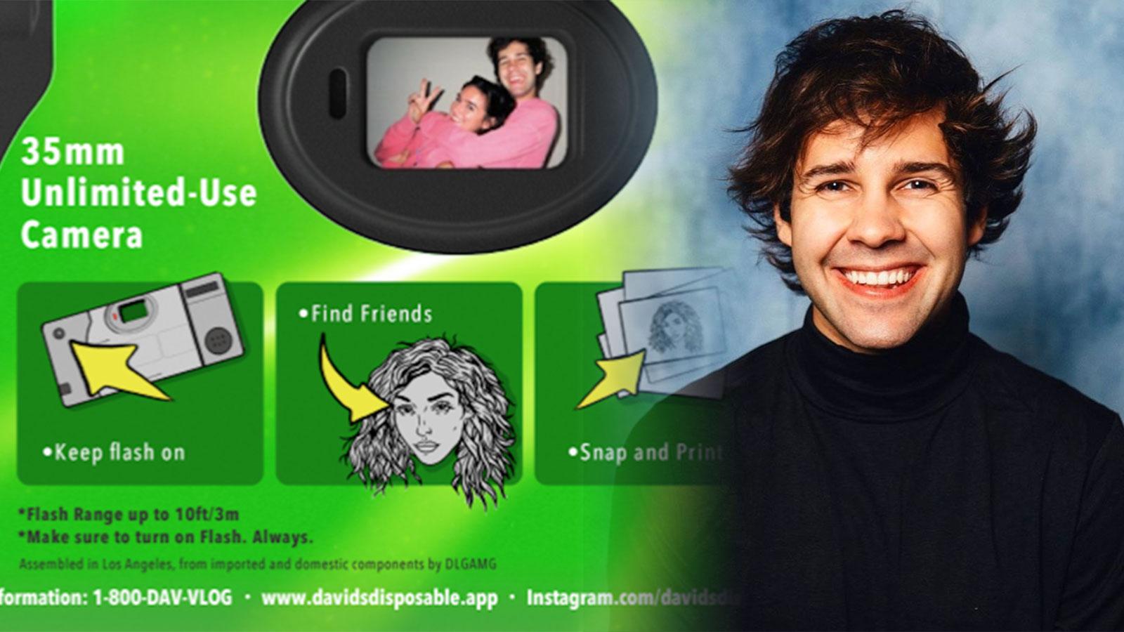 TikToker claims David Dobrik stole his designs for Dispo app - Dexerto
