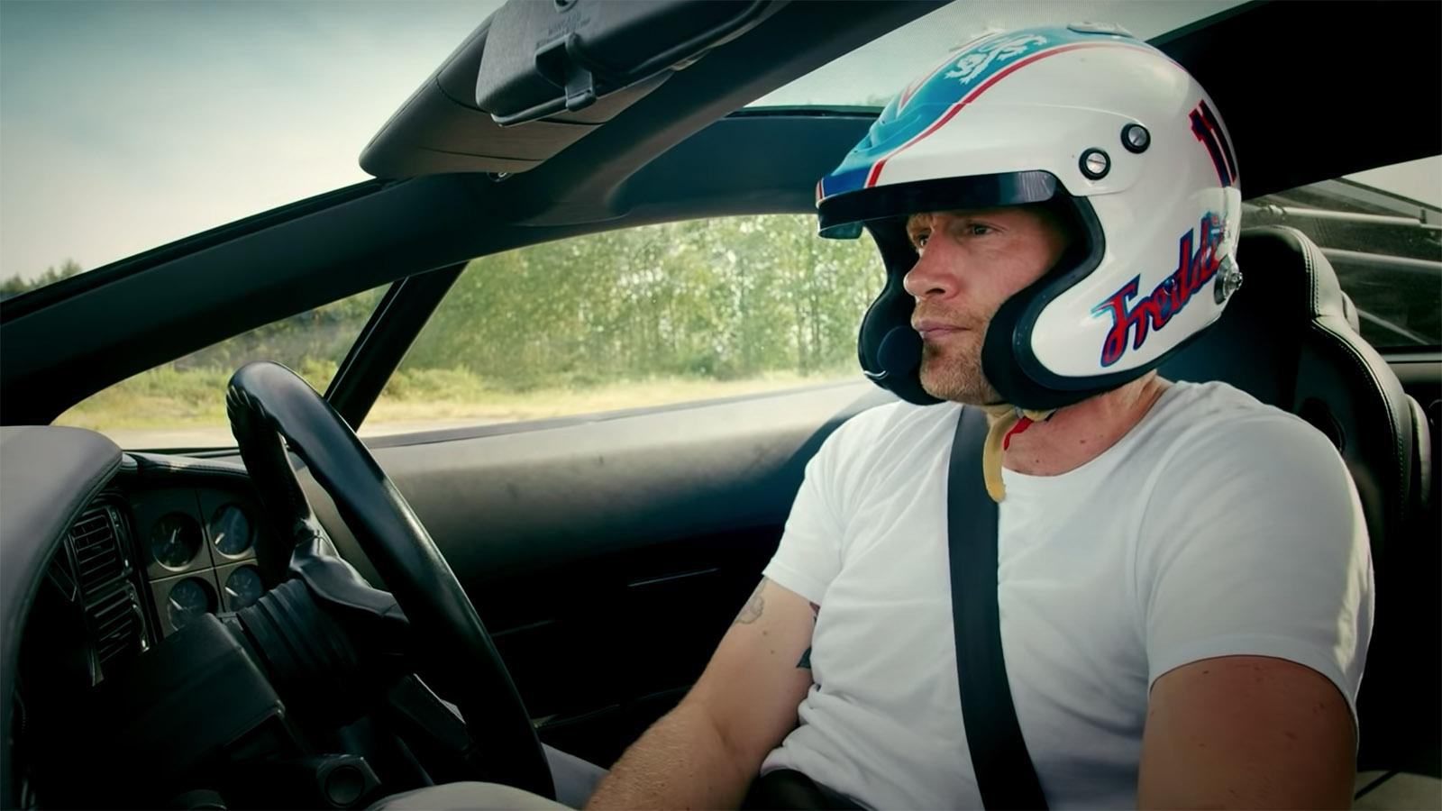 Freddie Flintoff Top Gear presenter