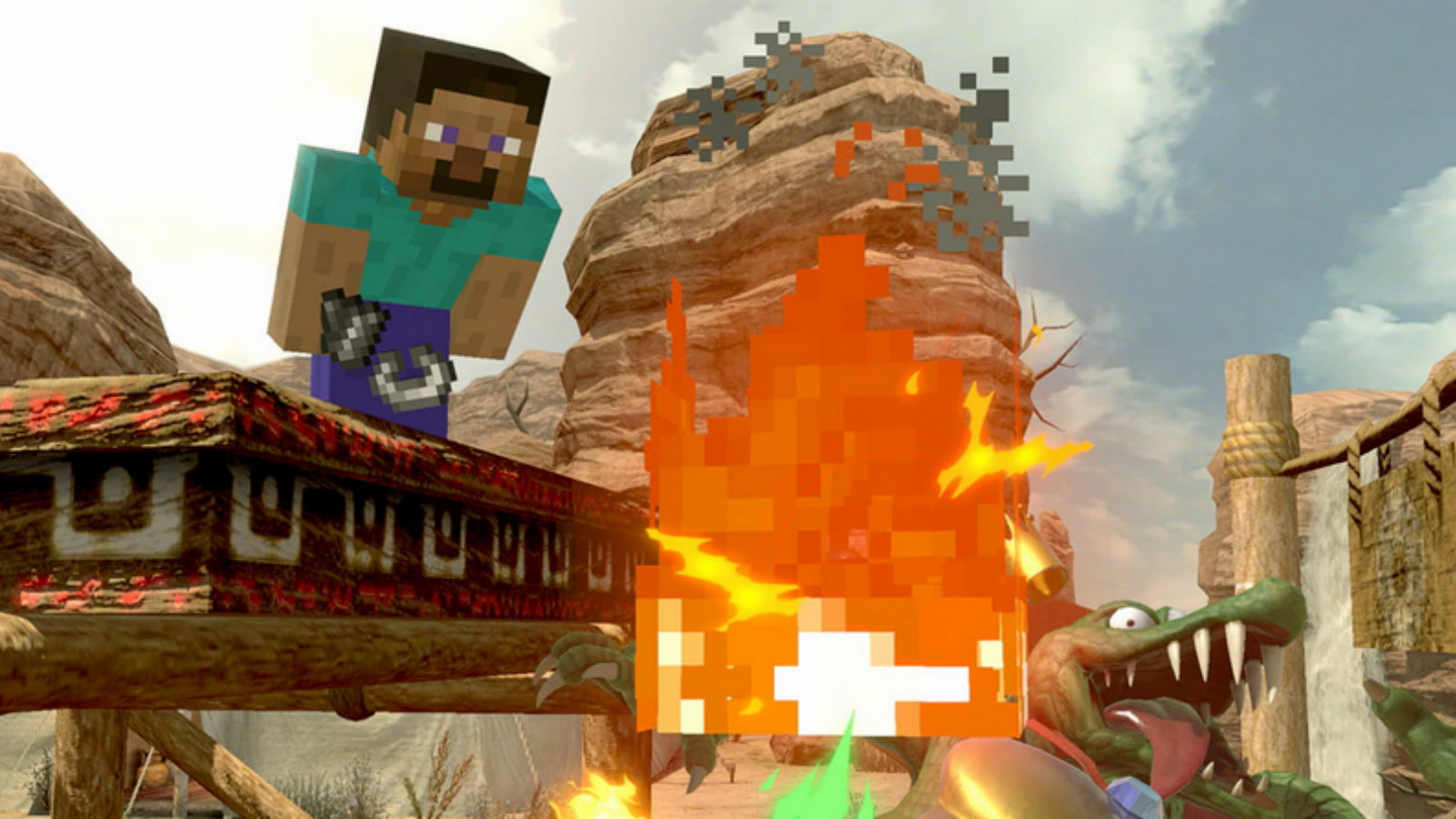 Steve from Minecraft is a major threat