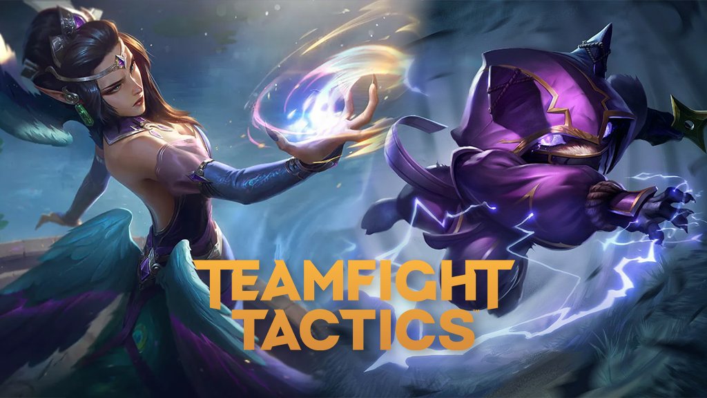 Morgana and Kennen in TFT Fates