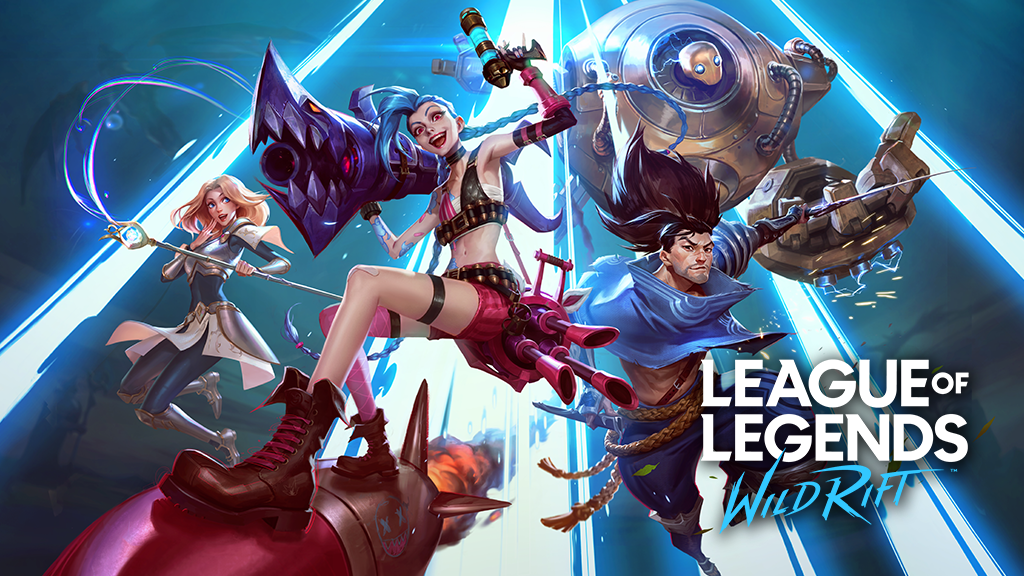 Lux, Jinx, Yasuo, Blitzcrank in League of Legends Wild Rift