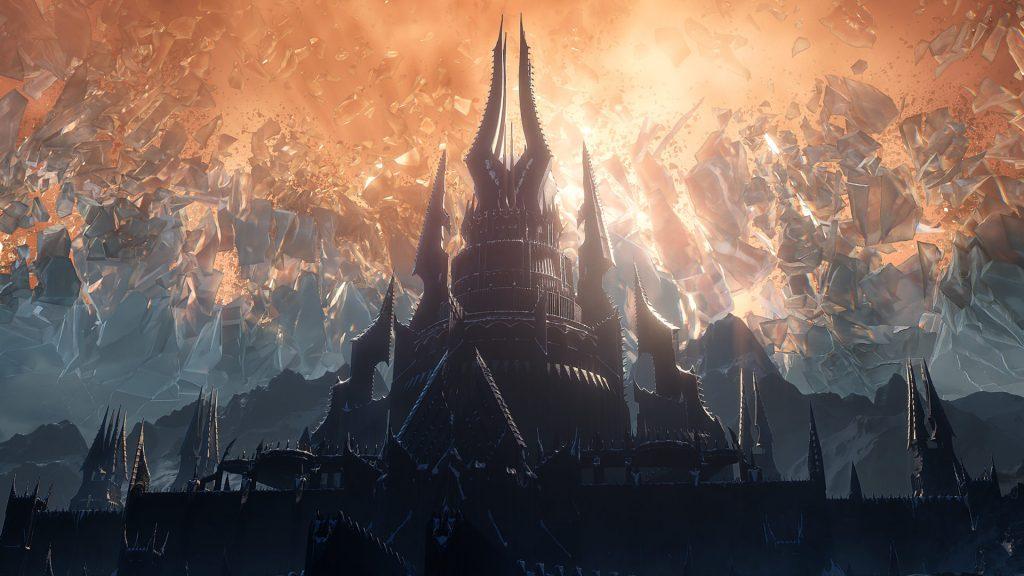 WoW Shadowlands castle