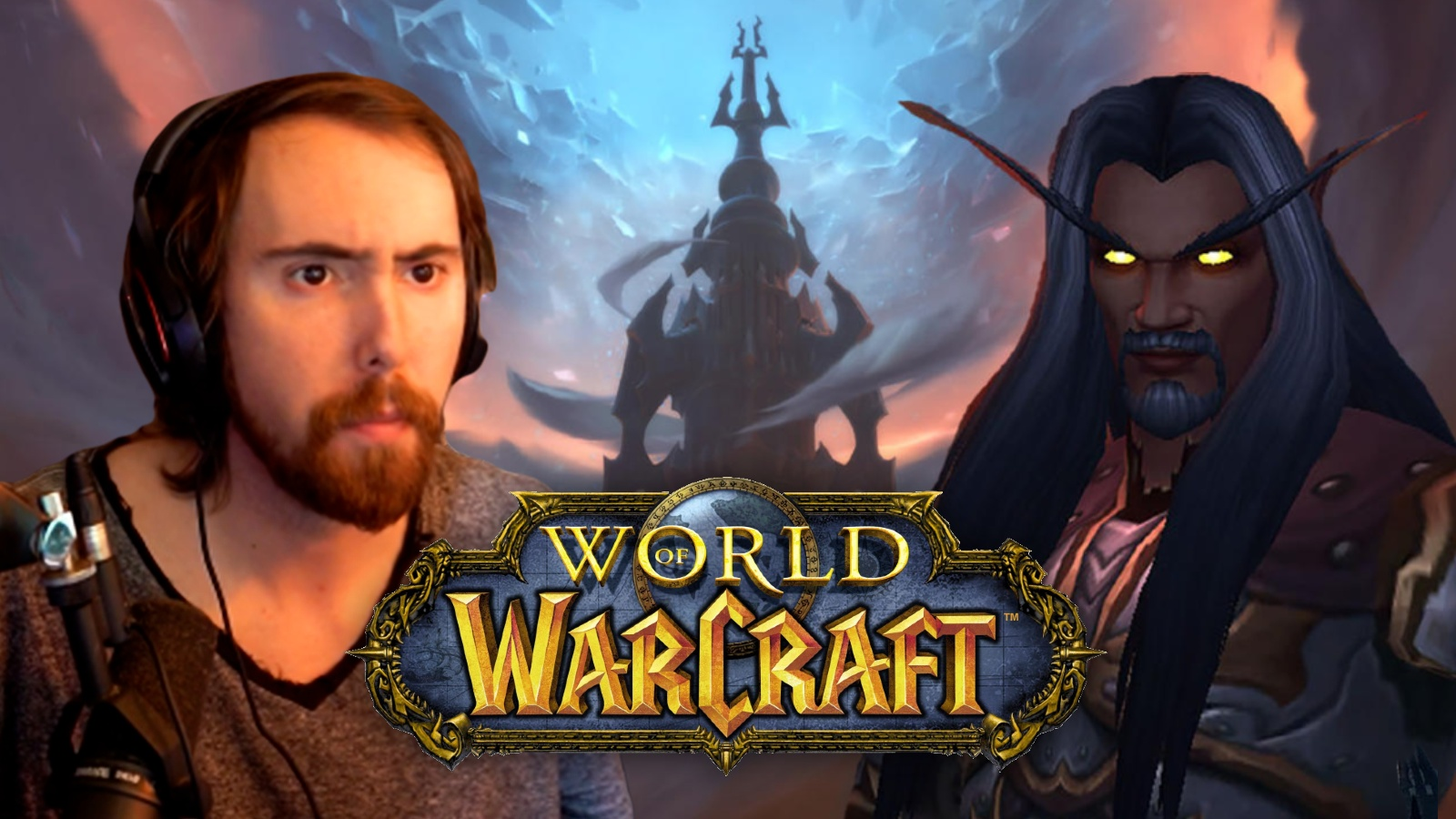 Asmongold black characters World of Warcraft