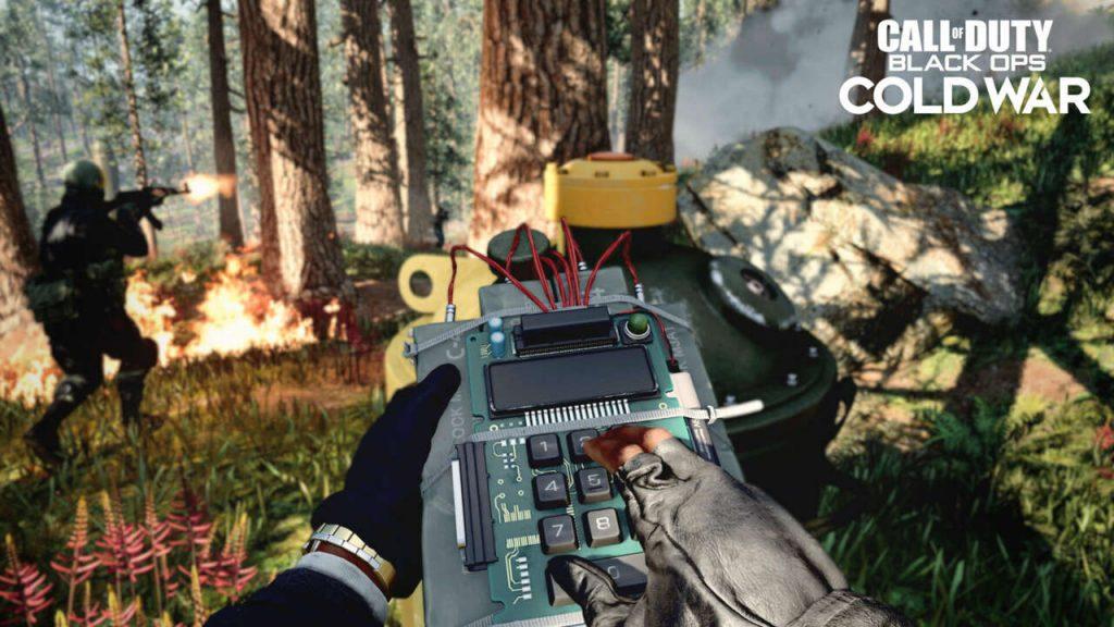 COD player planting bomb in Fireteam mode