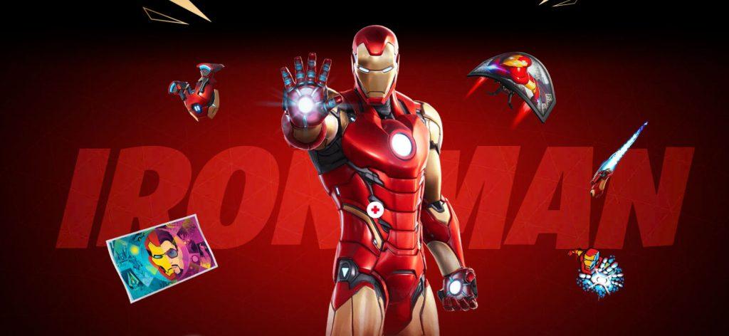 Fortnite Bosses Iron Man