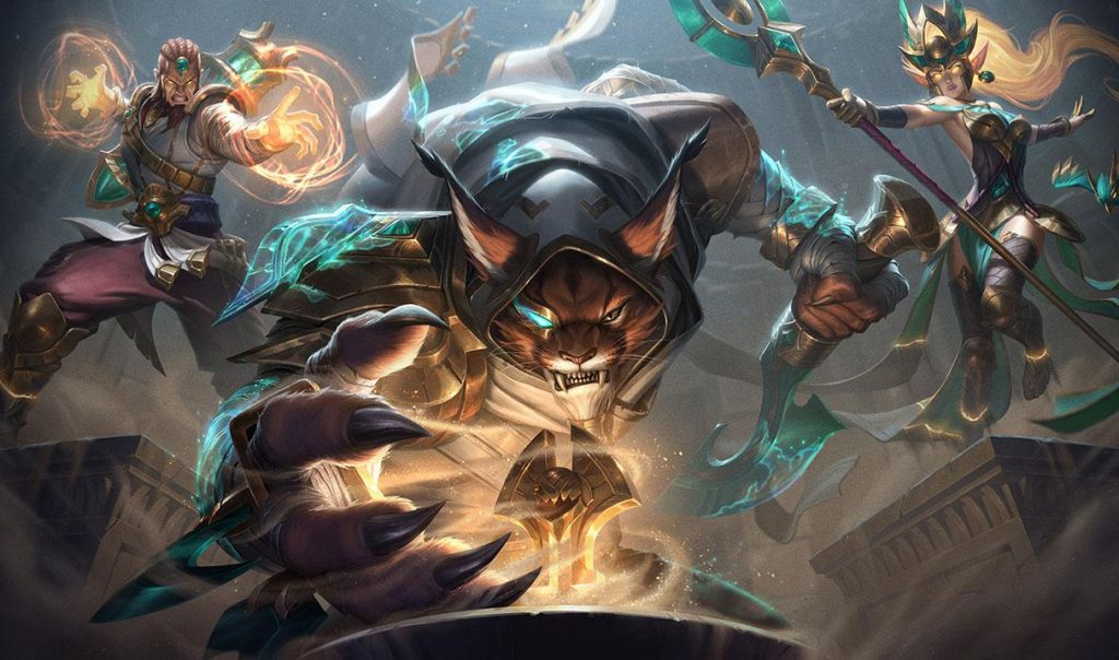 Rengar's guardian of the sands skin